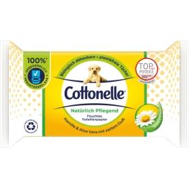 Cottonelle Natürlich pflegend feuchte Toilettentücher