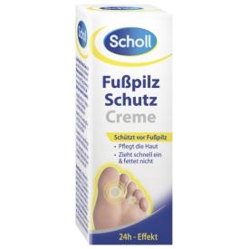 Scholl Fußcreme Fußpilz Schutz Creme