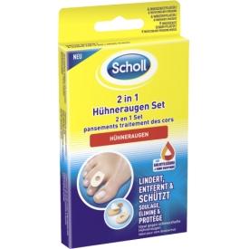 Scholl Fußpflege-Geräte Hühneraugenset 2 in 1
