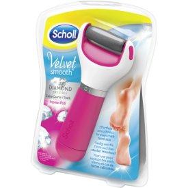 Scholl Fußpflege-Geräte Velvet Smooth Express Pedi Hornhautentferner Pink