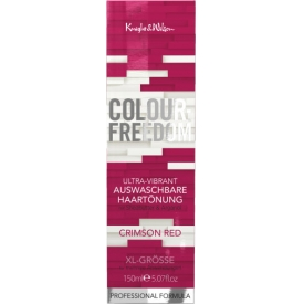 Colour-Freedom Auswaschbare Haartönung Ultra-Vibrant Crimson Red