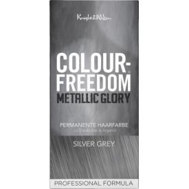 Colour-Freedom Metallic Glory permanente Haarfarbe Silver Grey