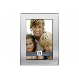 Bilderrahmen Orlando Metall für Bildgröße 10x15cm 14x19cm silber