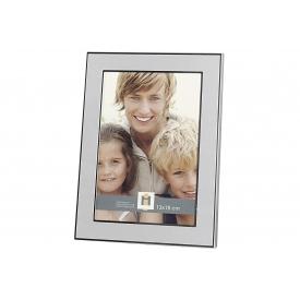 Bilderrahmen Orlando Metall für Bildgröße 13x18cm 15,5x20,5cm silber