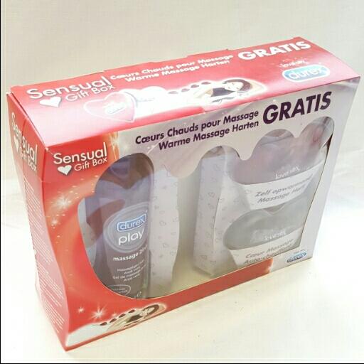 Durex  Geschenkbox Gleitgel & Massage Gel
