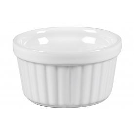 Vista Alegre Ragout-Fin-Form rund Steingut 5cm Ø9cm weiß