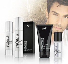 CNC Skincare  men relax Pflege Set