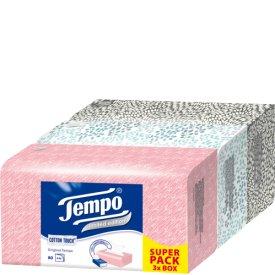 Tempo Papiertaschentücher Trio Box