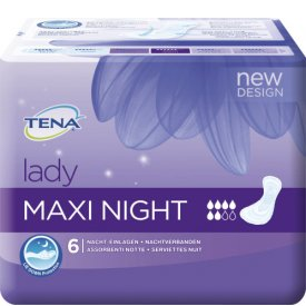 Tena Inkontinenz Lady Maxi Night Damenbinden