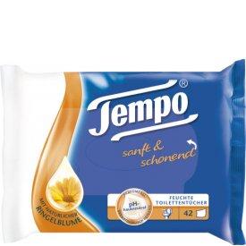 Tempo Feuchtes Toilettenpapier Sanft & Pur