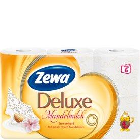 Zewa Deluxe Toilettenpapier Mandelmilch 4 lagig