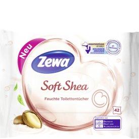 Zewa Feuchte Toilettentücher Soft Shea