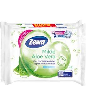 Zewa Feuchtes Toilettenpapier Milde Aloe Vera