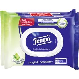 Tempo Feuchte Toilettentücher sanft&sensitiv