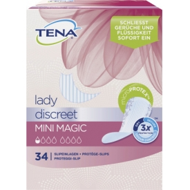 Tena Lady Discreet Mini Magic Slipeinlagen