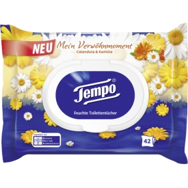 Tempo Feuchtes Toilettenpapier Calendula & Kamille