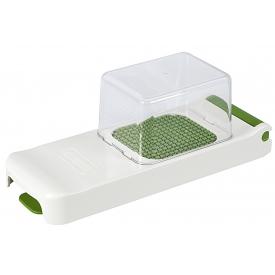 Alligator Zwiebel-/Gemüseschneider mit Clickbox 28x10,5x10,5cm