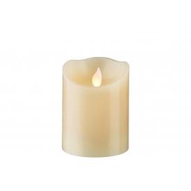 Best Season LED-Kerze Twinkle 10x7,5cm elfenbein