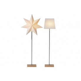 Best Season Standleuchte Combipack shade and star 34x82cm