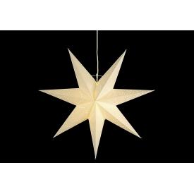 Best Season Stern Sensy Star Papier zum hängen incl. Kabel ohne Leuchtmittel
