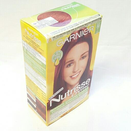 Garnier Dauerhafte Haarfabe Nutrisse Creme Intensivrot 66