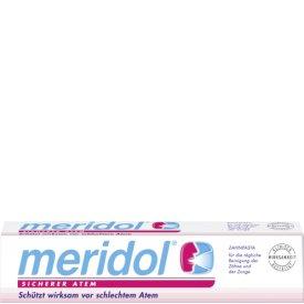 Meridol Zahnpasta sicherer Atem