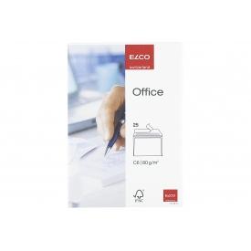Elco Briefumschläge Office C6 weiß 25 Stück