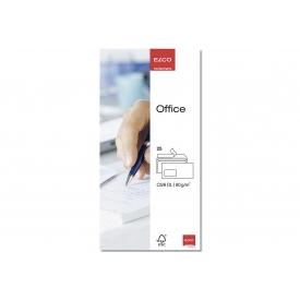 Elco Briefumschläge Office DIN lang mit Fenster weiß 25 Stück