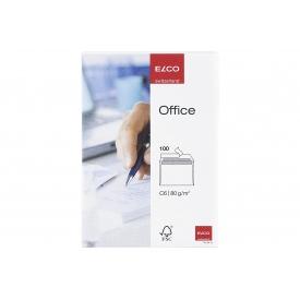 Staufen ELCO Briefumschläge Office C6 weiß 100 Stück