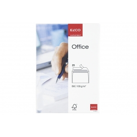 Elco Briefumschläge Office B6 weiß 25 Stück