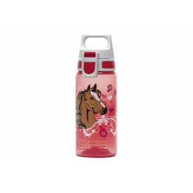 Sigg Trinkflasche Viva One Horses 0,5 l rot