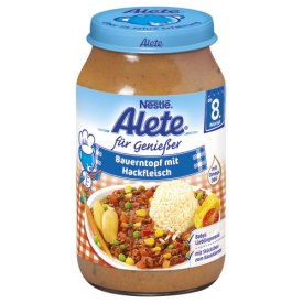 Nestle Alete Genießer Bauerntopf mit Hackfleisch