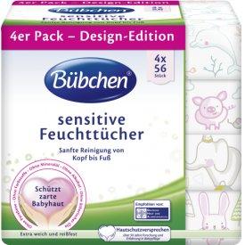 Bübchen Feuchttücher Sensitive Design Edition