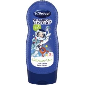 Bübchen Shampoo & Duschgel Weltraum Star