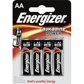 Energizer Batterien Power Mignon AA Alkali-Mangan