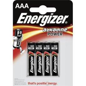 Energizer Batterien Power Micro AAA Alkali-Mangan