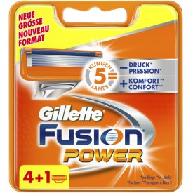 Gillette Rasierklingen Fusion Power