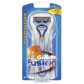 Gillette Fusion Phenom Rasierer + 2 Ersatzklingen