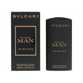 Bvlgari Man In Black Shampoo & Shower Gel