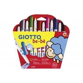 Giotto be-bè Super-Fasermaler 12er Kartonetui