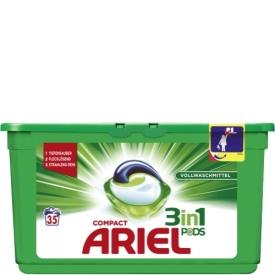Ariel Vollwaschmittel Compact Pods 3in1 35WL