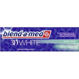 Blend-a-med Zahncreme 3D White Soft mint