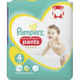 Pampers Pants Premium Protection Größe 4 Maxi 9-15 kg