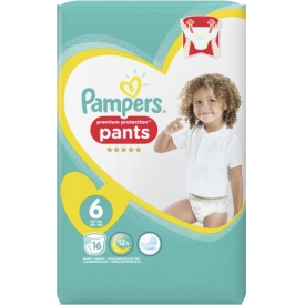 Pampers Pants Premium Protection Größe 6 Extra Large ab 15 kg