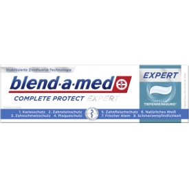 Blend-a-med Zahncreme Oral-B Complete Protect Pro Expert Tiefenreinigung