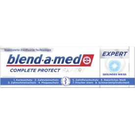 Blend-a-med Zahncreme Complete Protect Expert Gesundes Weiss
