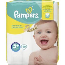 Pampers Premium Protection Größe 5+ Junior plus 13-25 kg Sparpack