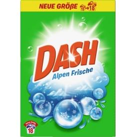 Dash Vollwaschmittel Pulver Alpenfrische