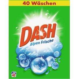 Dash Pulver Regulär Alpenfrische