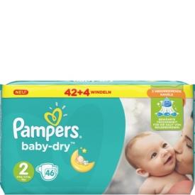 Pampers Windeln Baby Dry Größe 2 Mini 3-6 kg